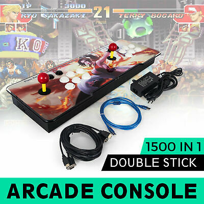 1500 In 1 Pandora Box 9S Double Stick Arcade Console 1500 Retro Video Game Gifts