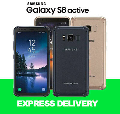 Samsung Galaxy S8 Active 4G 64Gb Unlocked Smartphone At&T Black And Gold