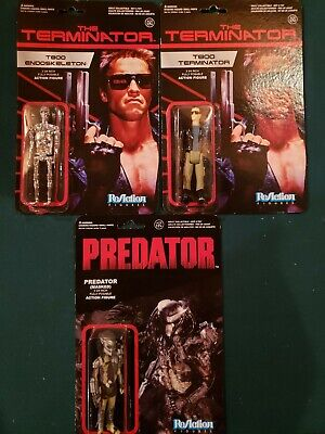 THE TERMINATOR Action Figure T800 ENDOSKELETON ReAction NEW UNPUNCHED