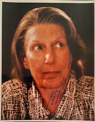 NANCY MARCHAND The Sopranos SIGNED PHOTO PROP PRAYER CARD Letter of Authenticity