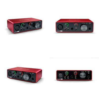 Focusrite Scarlett Solo (3Rd Gen) Usb Audio Interface With Pro Tools   First (Am