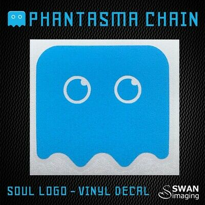 Phantasma SOUL logo vinyl decal - Cryptocurrency Sticker - SOUL laptop decal