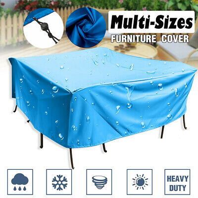 Extra Large Garden Rattan Outdoor Furniture Cover Patio Table Chair Protection