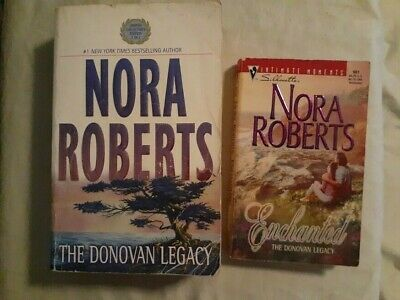 Nora Roberts Complete Donovan Legacy 4 Novels in 2 or 3 Volumes