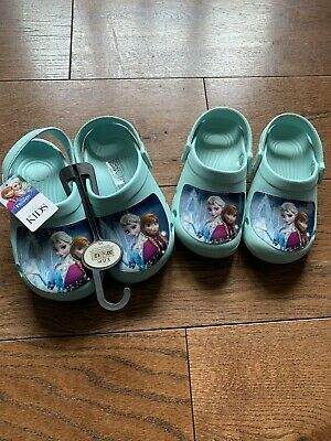 Frozen Girls Shoes Size 11 (used) and BNWT 12 Marks and Spencers