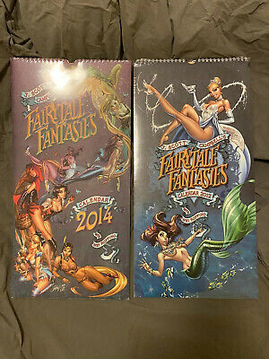 Fairytale Fantasies Calendars 2012 & 2014 (J Scott Campbell)