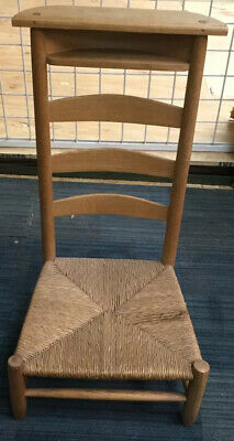 Antique French Prayer Stool / Chair