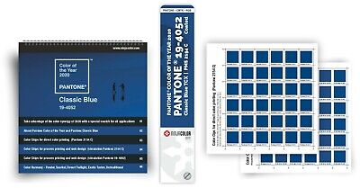 New - Pantone Color Of The Year - Set Color Guide + Color Chips + Booklet