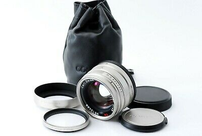 #124 CONTAX Carl Zeiss Planar 45mm F/2 T* Lens Excellent++ Japan Free Shipping