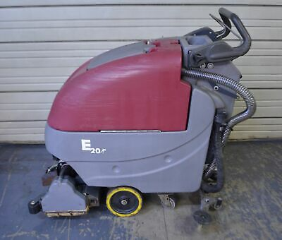 "Minuteman E20 20"" Cylindrical Brush Traction Drive Walk-Behind Floor Scrubber"