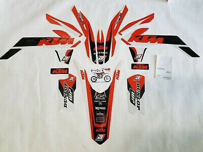 Kit Adesivi Grafiche Graphics Stickers Blackbird Ktm Sx 85 2017