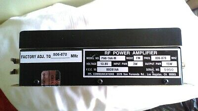 NOS 806 to 870 MHz –1 suffix Motorola MHW2821-1 RF POWER AMPLIFIER 20 W
