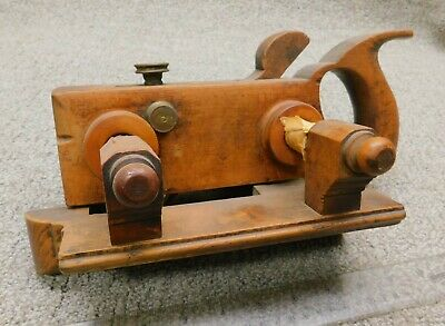 Auburn Tool Co. Handled Plow Plane  Antique Woodworking Tool