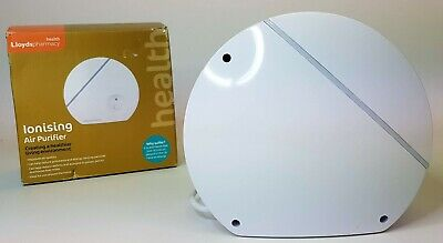 Lloyds Pharmacy Ionising Air Purifier - with Original Box - Reduces Pollutants