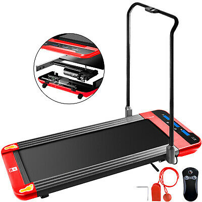 Treadmill 2-IN-1 Fodable Under Desk Treadmills Walking Pad Cardio Workout Remote