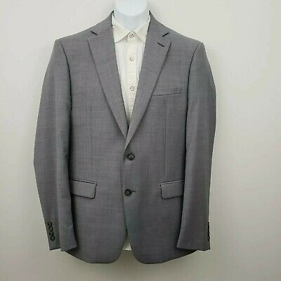 Calvin Klein Grey Wool Blend Suit Jacket Men's 42R