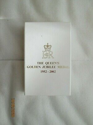 The Queen's Golden Jubilee Medal Box (BOX ONLY)