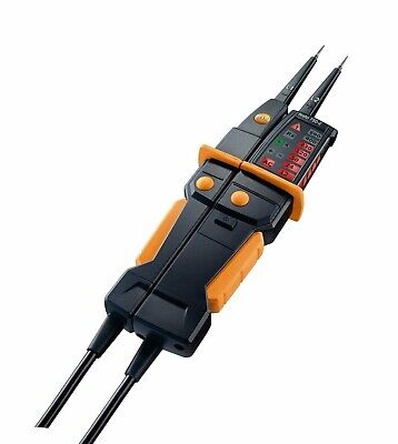 Testo 0590 7502 750-2 Voltage Tester, Built-in Flashlight and Gfci