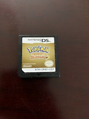 Pokemon Version Or Heartgold For Nintendo Ds. French Version. Rare