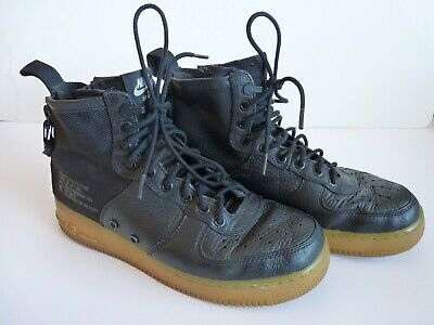 Nike Air SF AF1 Mid Men's Black Urban Utility Shoes Size 8.5 Goddess Of Victory