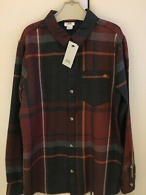 Boys River Island Checked Cotton Shirt, Age 9-10 Years, Brand New With Tags