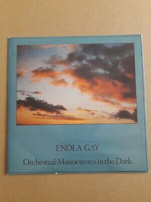 """Orchestral Manoeuvres In The Dark Enola Gay 7"""" Vinyl 1980 Dindisc Din 22 New..."""