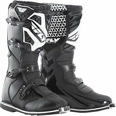 NEW FLY Racing Maverick Boots Black/White motocross atv offroad Boot MX