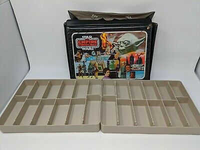 Vintage 1980 Star Wars Empire Strikes Back Action Figure Collector Case Complete