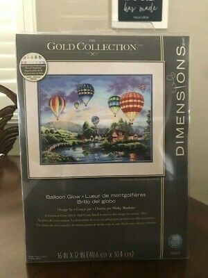Counted Gold Cross Stitch Kit Eagle D35165 Dimensions Silent Flight