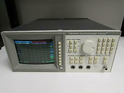 Wavetek 8003 Precision Scalar Analyzer Option: 01