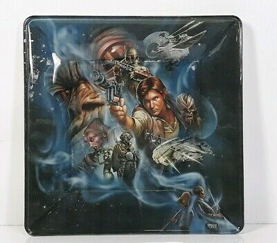 Star Wars The Story of Solo Inspired Art Handcrafted Decorative Plate