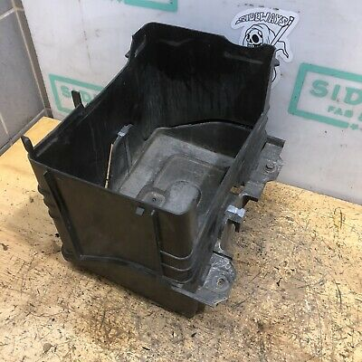 04-11 Mazda RX8 Battery Box Upper & Lower SE3P Cover Tray Lid OEM Used Bottom