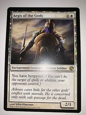 The Gathering MTG Journey Into Nyx Aegis Of The Gods X4 M//NM Magic