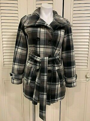 New with Tags Select size//color Ike Behar Women/'s Fleece Belted Jacket