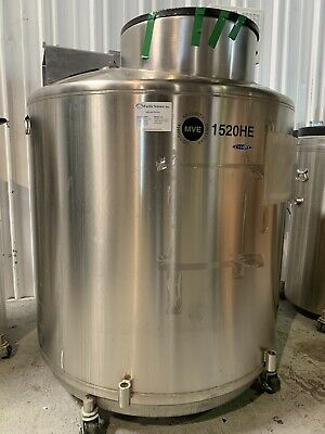 Chart MVE 1520HEF Liquid Nitrogen Freezer with TEC-2000 Monitor USED