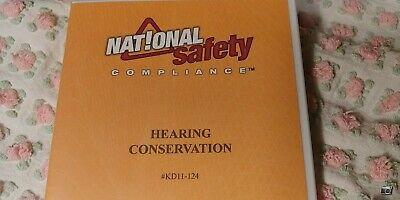 Hearing Conservation  National Safety Compliance, KD11-124  BIN178
