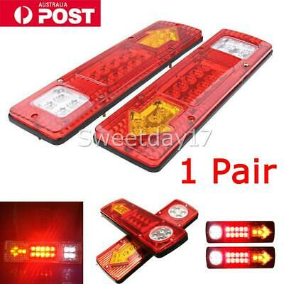 LED TRAILER TAIL LIGHTS TRUCK CARAVAN UTE BOAT LIGHT STOP INDICATOR Waterproof Y