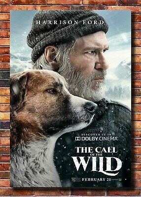 361 Call of the Wild Movie Poster 2020 32x48 27x40 Art