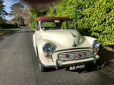 Morris Minor Convertible 1967(Post) From Hcc , Private Plate At Additional Cost