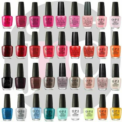 OPI Nail Polish Varnish Lacquer Colour Genuine Professional Full Collection 15ml
