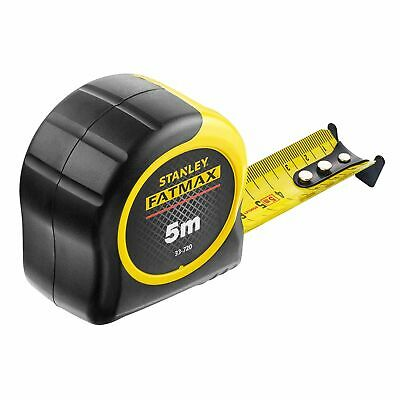 Classic Measuring Tape Metric Only 5m Stanley Fatmax Blade Armor Coating
