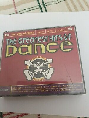 The Greatest Hits Of Dance - 3 Cd Set - Fat Box
