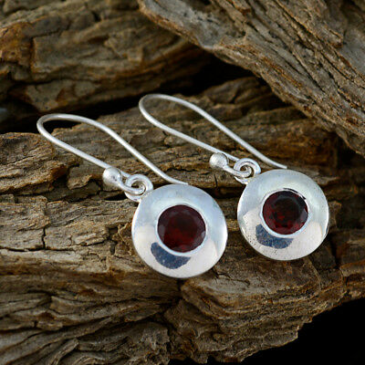 grand Garnet 925 Sterling Silver Red genuine indian US gift