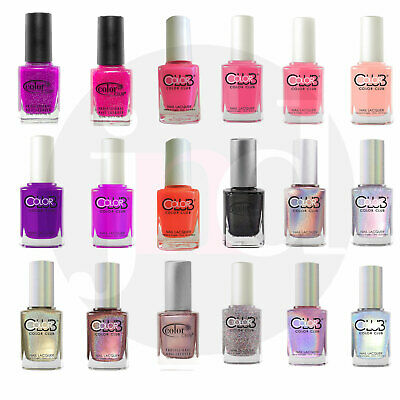 New* Color Club Nail Polish Varnish Lacquer Colours Holographic Shades 15ml