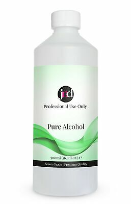 100% Pure Alcohol Prep & Wipe Cleanser Nail Gel Polish Residue Remover 500ml