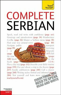 COMPLETE SERBIAN: A TEACH YOURSELF GUIDE (TY: LANGUAGE By David Norris EXCELLENT