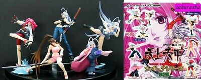 Set 5 Figure Tenjo Tenge Part 2 Inferno Paradise Gashapon Kaiyodo Japan Figures