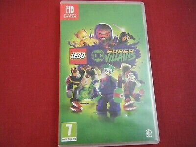 Lego Dc Super Villains Nintendo Switch Game Pal Tested