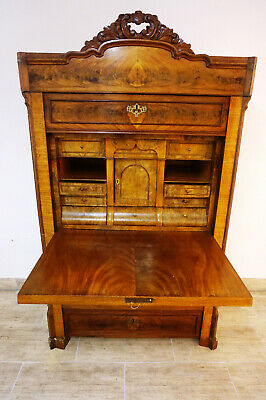 Antiker Biedermeier empire Schreibschrank Sekretär Kommode france old mobiliar