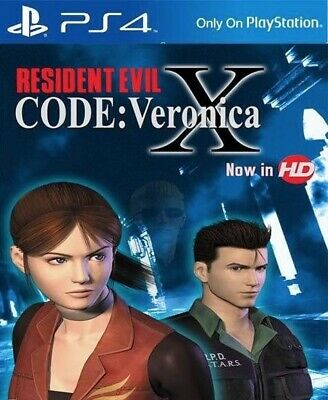 • Resident Evil: Code Veronica X • PlayStation 4 • Digital • PS4 Full Game •